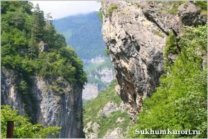Горы в Абхазии