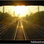 Российские специалисты завершают ремонт железной дороги.