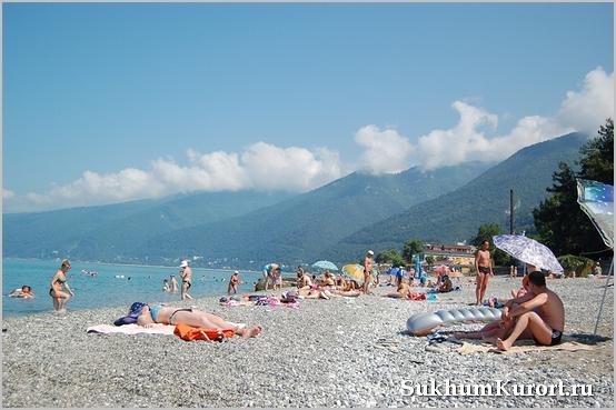 Пляжи г.Сухум