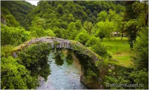 Беслетский мост (мост Царицы Тамары)