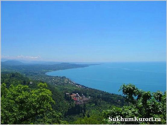 Минеральные воды Абхазии
