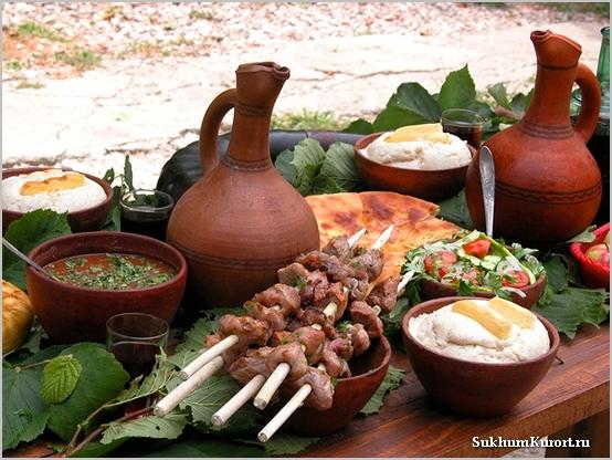 Традиции Абхазского застолья