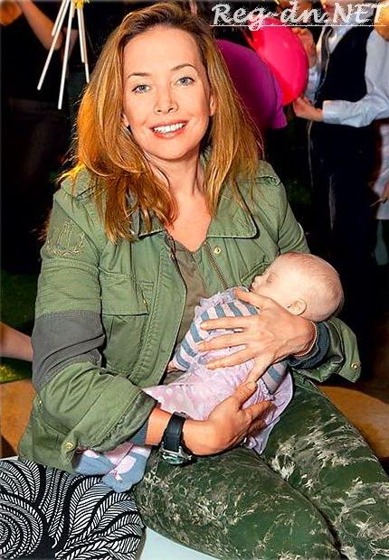 Жанна Фриске с ребенком